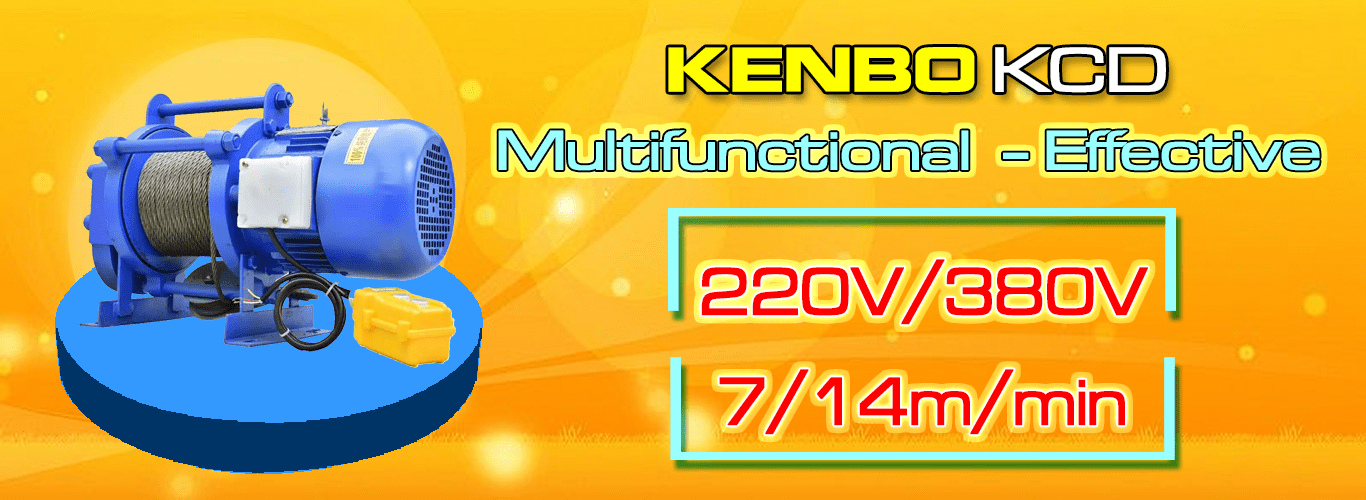 KENBO KCD multifuntional electric winch