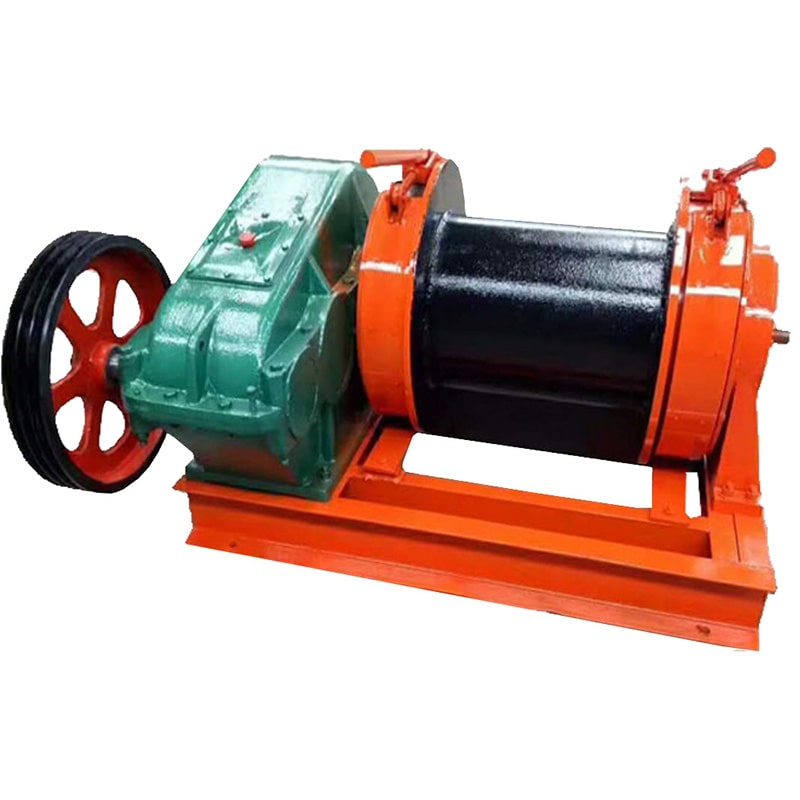 KENBO diesel engine ground winch