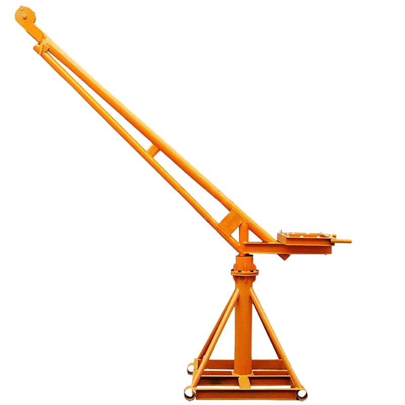 Mini lifting crane frame
